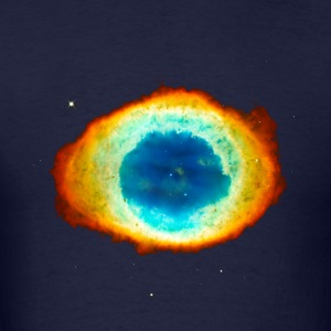 Helix Nebula, Eye of God, Aquarius, Space, Galaxy T-Shirts - Men's T-Shirt