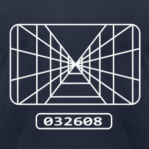 Star wars - pilot target - Men's T-Shirt by American Apparel