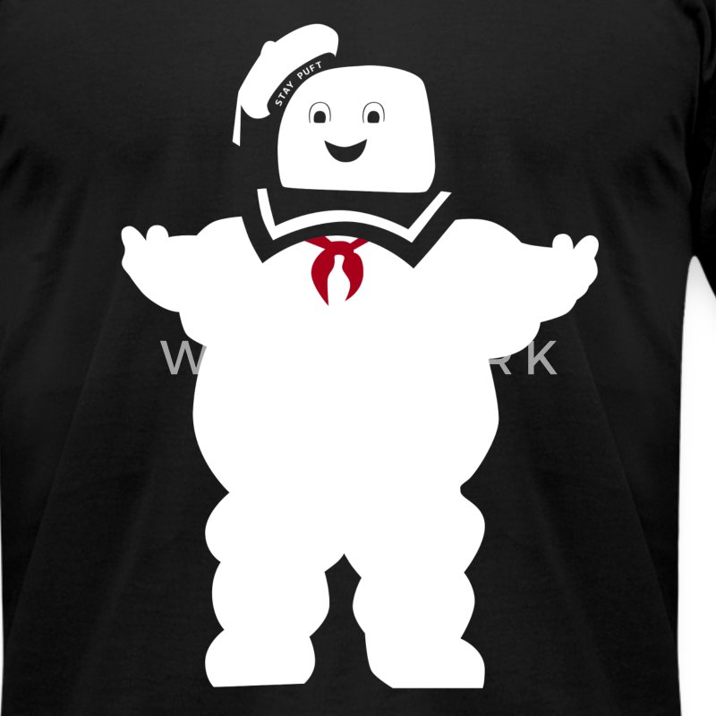 Ghostbusters - Stay puft - Men's T-Shirt by American Apparel