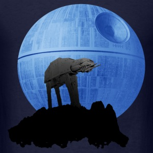 Star wars - AT-AT moon - Men's T-Shirt