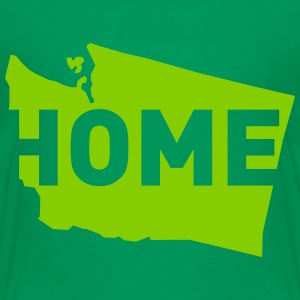 Home is where Washington is - Kids' Premium T-Shirt