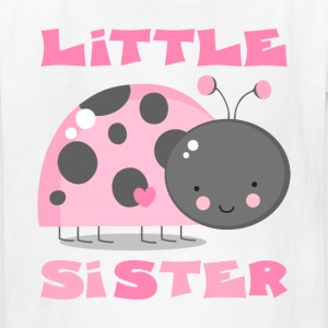 Pink Ladybug Little Sis Kids' Shirts - Kids' T-Shirt