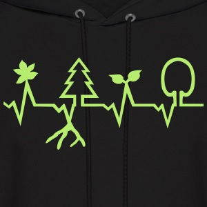 Nature - Heartbeat Hoodies - Men's Hoodie