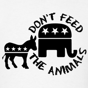 DON'T FEED THE ANIMALS - Men's T-Shirt