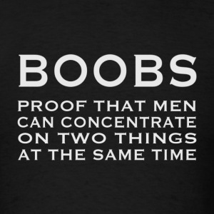 BOOBS - Men's T-Shirt