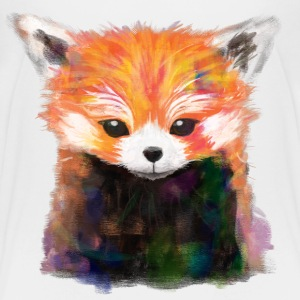 Red Panda Painting Tee - Kids' Premium T-Shirt