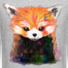 Red Panda Painting Sweatshirt