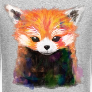 Red Panda Painting Sweatshirt - Crewneck Sweatshirt