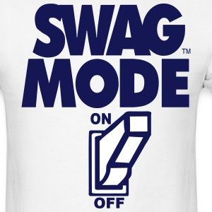 SWAG MODE ON T-Shirts - Men's T-Shirt
