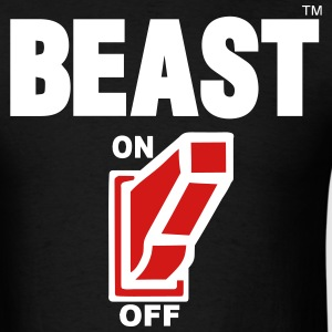BEAST ON T-Shirts - Men's T-Shirt