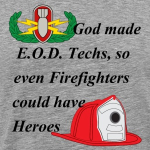 EOD Firefighter hero T-Shirts - Men's Premium T-Shirt