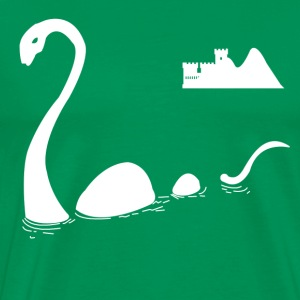 The Loch Ness Monster T-Shirts - Men's Premium T-Shirt