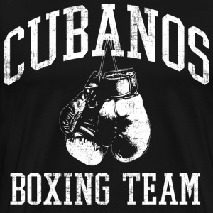 Cubanos Boxing Team T-Shirts - Men's Premium T-Shirt