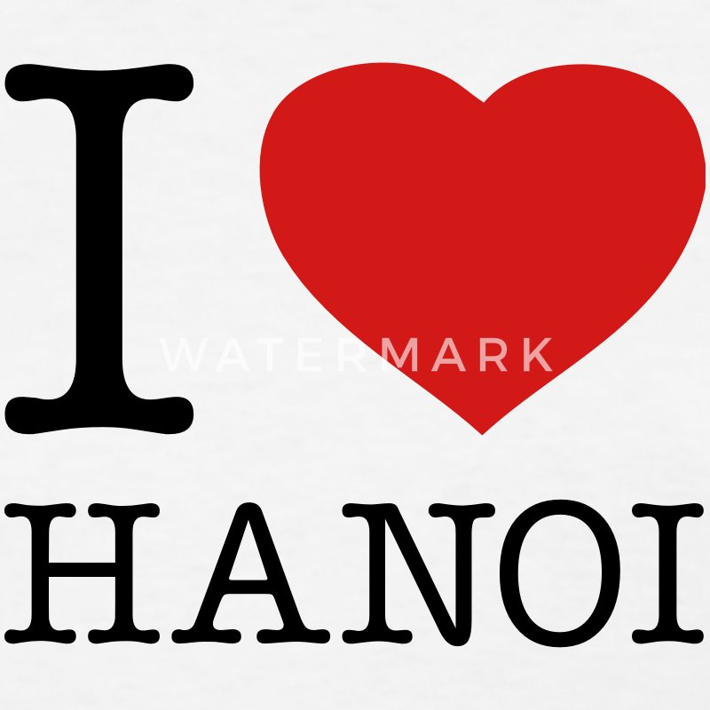 I LOVE HANOI - Women's T-Shirt