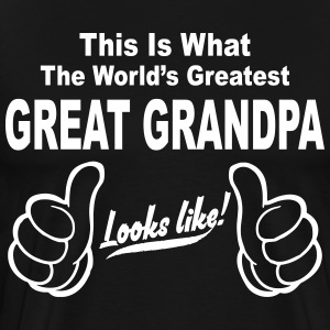 Worlds Greatest Grandma Looks Like,best grandma e T-Shirts - Men's Premium T-Shirt