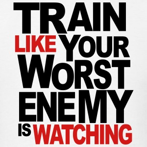 Train Like They Watching - Men's T-Shirt