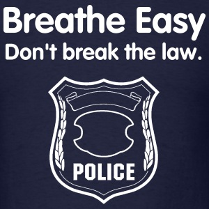 Breathe Easy - Men's T-Shirt