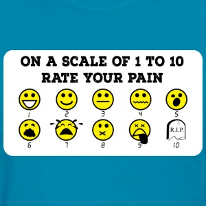 Rate Your Pain Women's Tee - Women's T-Shirt