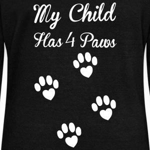 Paws Long Sleeve Shirts - Women's Wideneck Sweatshirt