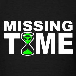Missing Time T-Shirts - Men's T-Shirt