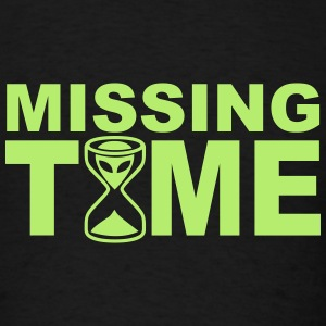 Missing Time - Men's T-Shirt
