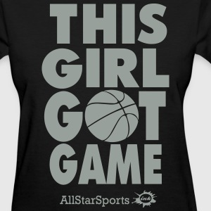 THIS GIRL GOT GAME Women's T-Shirts - Women's T-Shirt