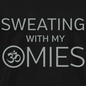 Sweating With My OMies T-Shirts - Men's Premium T-Shirt