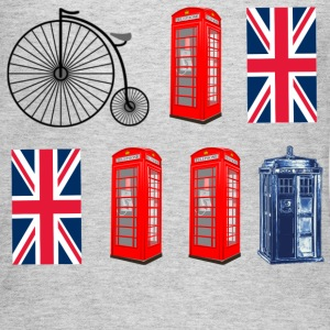 British to the Core - Women's Long Sleeve Jersey T-Shirt