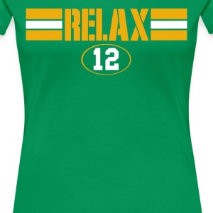 Relax Green Bay - Women's Premium T-Shirt