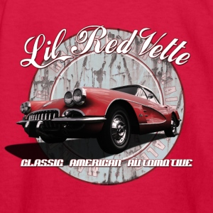 Kids' Long Sleeve T-Shirt | 58 Corvette | Classic  - Kids' Long Sleeve T-Shirt