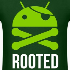 ANDROID ROOTED MEN GILDAN T SHIRT