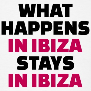 What happens in Ibiza stays in Ibiza T-Shirts - Men's T-Shirt