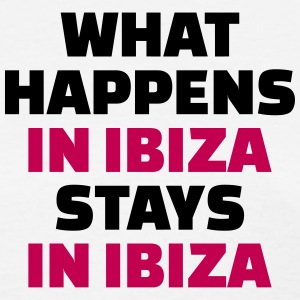 What happens in Ibiza stays in Ibiza Women's T-Shirts - Women's T-Shirt