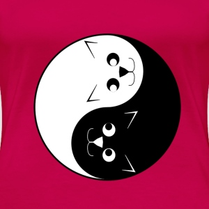 Yin Yang Cats - Women's Premium T-Shirt