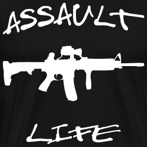 Assault Life - Men's Premium T-Shirt
