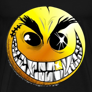 Evil Killer Smiley Face - Men's Premium T-Shirt