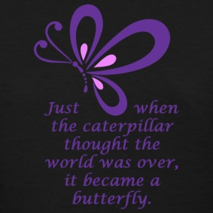 Caterpillar - Butterfly - Women's T-Shirt