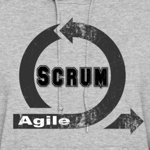 Agile Scrum - Vintage / Retro look - Women's Hoodie