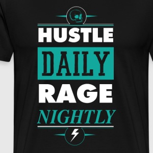 Hustle Daily - Men's Premium T-Shirt