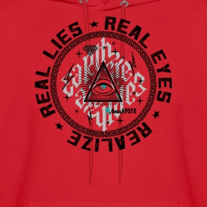Real Eyes Realize  - Men's Hoodie