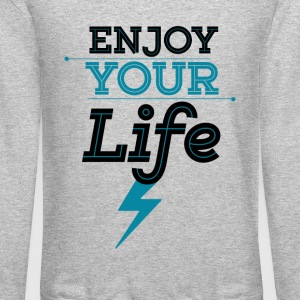 Enjoy Life - Crewneck Sweatshirt