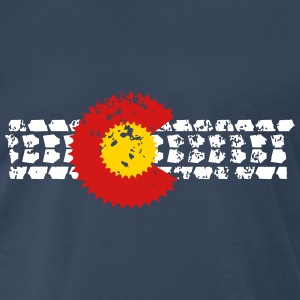 Mountain bike Colorado - Men's Premium T-Shirt