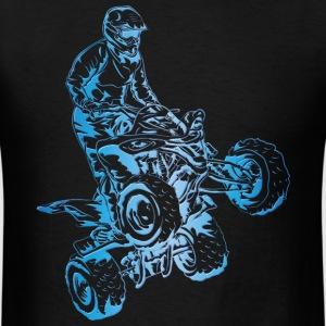 ATV Quad Yamaha Art T-Shirts - Men's T-Shirt