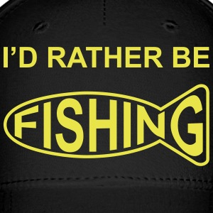 I'd Rather Be Fishing Caps - Baseball Cap