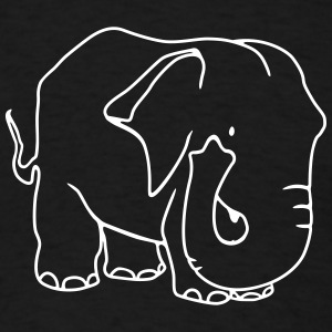 elephant funny T-Shirts - Men's T-Shirt