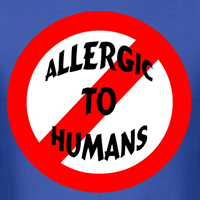 Allergic to humans