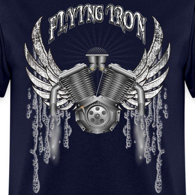 Flying V2 Motorcycle Engine T-Shirts