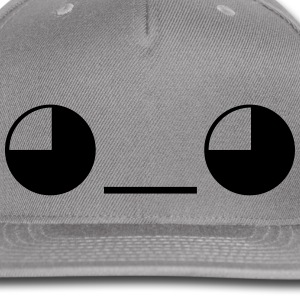 Give emoticon Face Caps - Snap-back Baseball Cap