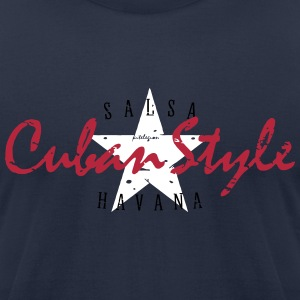cuban style_vec_3 us T-Shirts - Men's T-Shirt by American Apparel