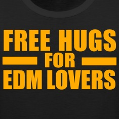 Free hugs for EDM lovers Tank Tops
